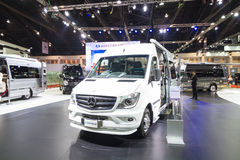 BANGKOK - MARCH 30: Mercedes benz modify car by airstream on display at The 36th Bangkok International Motor Show on March 30, 201 Stock Photos