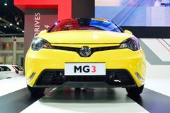 BANGKOK - March 26 : MG 3 Hatchback Car with 1500 cc VTi engine Stock Photography