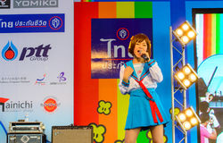 Mini Concert by Kazumi Sekine. Stock Photography