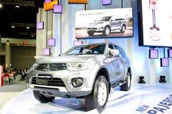 BANGKOK - MARCH 29 : Mitsubishi New PAJERO Sport on display at B Stock Images
