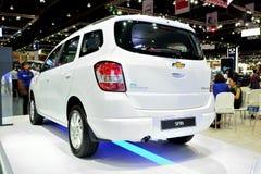 BANGKOK - March 26 : New Chevrolet Spin, Mini MPV, on DisPlay at Royalty Free Stock Photos