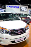 BANGKOK - MARCH 29 : New SSANGYONG STAVIC on display at Bangkok Stock Photography