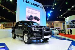 BANGKOK - March 26 : New Volkswagen Amarok , Pick up truck, on D Stock Photography