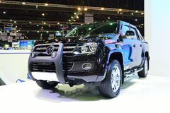 BANGKOK - March 26 : New Volkswagen Amarok , Pick up truck, on D Royalty Free Stock Photography
