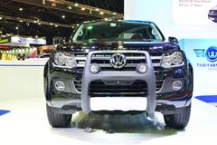 BANGKOK - March 26 : New Volkswagen Amarok , Pick up truck, on D Royalty Free Stock Images