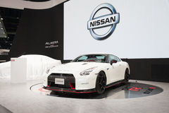 BANGKOK - MARCH 22: Nissan GTR car on display at The 37 th Thail Royalty Free Stock Photography