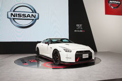 BANGKOK - MARCH 22: Nissan GTR car on display at The 37 th Thail Royalty Free Stock Images