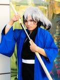 Nura Rikuo Cosplayer from Nurarihyon no Mago. Stock Photos