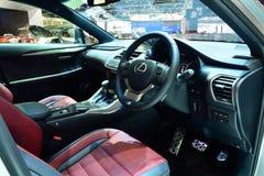 BANGKOK - March 26 : Passender Room design of Lexus NX 300h, Lux stock photos