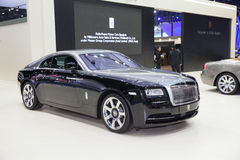BANGKOK - MARCH 22: Roll Royce car on display at The 37 th Thail Stock Photo