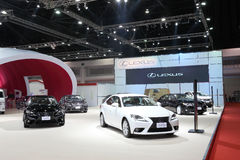 BANGKOK - MARCH 25: Showroom of Lexus car  at The 36 th Bangkok. International Motor Show on March 25, 2015 in Bangkok, Thailand Stock Photo