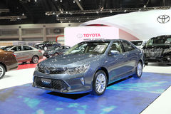 BANGKOK - MARCH 25: Toyota Camry Hybrid car on display at The 36 Stock Photography