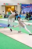 Asian Junior & Cadet Fencing Championships 2013 Stock Image