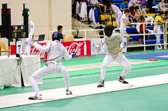 Asian Junior & Cadet Fencing Championships 2013 Royalty Free Stock Images
