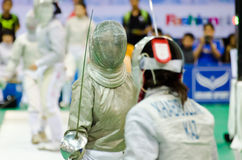 Asian Junior & Cadet Fencing Championships 2013 Royalty Free Stock Photography