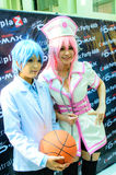 Japanese anime cosplay in Comic Party 46th. Stock Image