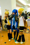 Japanese anime cosplay in Comic Party 46th. Royalty Free Stock Photo