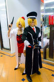 Japanese anime cosplay in Comic Party 46th. Royalty Free Stock Images