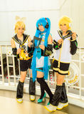 Japanese anime cosplay in Comic Party 46th. Stock Photography