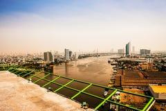 Bangkok Marine Port fotografia stock libera da diritti