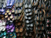Flip flop display royalty free stock photography