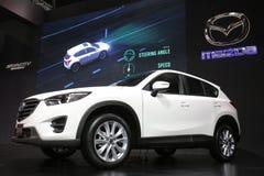 Bangkok - mars 31: Mazda CX-5 på den vita bilen på den 37th Bangkok internationella Thailand motoriska showen 2016 på mars 26, 20 Arkivfoton