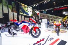 BANGKOK - 30 MARS : Moto de Honda sur l'affichage au trente-sixième Salon de l'Automobile international de Bangkok le 30 mars 201 Image libre de droits
