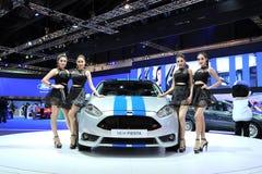 BANGKOK, MARZEC - 26: FORD fiesta samochód Obrazy Stock