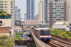 The Bangkok Mass Transit System , known as BTS. Stock Image