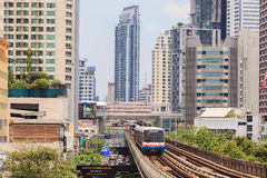 The Bangkok Mass  Transit System , known as BTS. Stock Photos