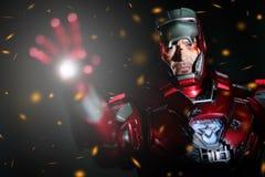 BANGKOK - MAY 21,2014 : Iron Man model room on display in Thailand 2014 on May 21, 2014 at Bangkok, Thailand. Royalty Free Stock Photography
