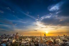 Bangkok metropolis cityscape Stock Photos