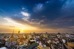 Bangkok metropolis cityscape Stock Images