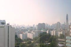 Bangkok miasta widok Zdjęcia Royalty Free