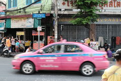 Bangkok miasto, CharaneKung droga Tajlandia Obraz Stock