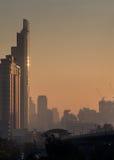 Bangkok miasto w ranku zdjęcie stock