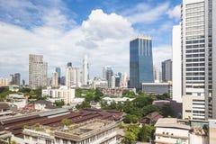 Bangkok modern skyline Royalty Free Stock Image