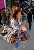 bangkok modlenia świątyni Thailand kobieta Obrazy Stock