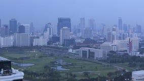 Bangkok-Morgen stock video footage