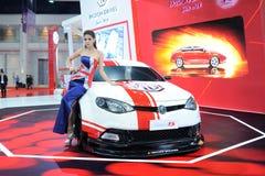 BANGKOK MOTOROWY przedstawienie - MARZEC 26, MG 6 samochód Zdjęcie Royalty Free