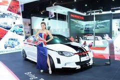 BANGKOK MOTOROWY przedstawienie - MARZEC 26, MG 6 samochód Zdjęcia Royalty Free