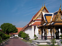 bangkok museumnational thailand Arkivbilder