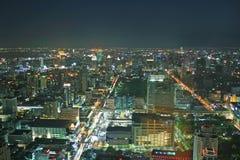 Bangkok nachts lizenzfreie stockbilder