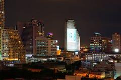 Bangkok nachts lizenzfreie stockfotografie