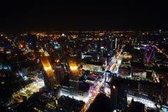 Bangkok nachts Stockfotos