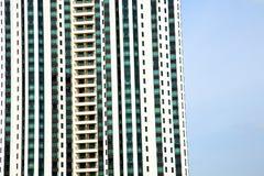 Bangkok nell'estratto del distretto di ufficio lo skysc moderno Immagini Stock