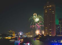 Bangkok New year Stock Photography