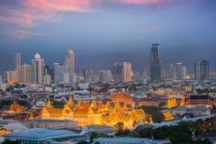 Bangkok niebo Zdjęcia Royalty Free