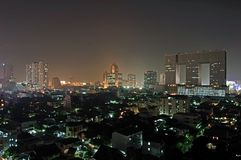 Bangkok at night Stock Photos