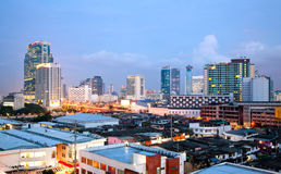 Bangkok Night Stock Photography